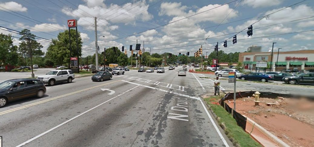 North Druid Hills Road and Briarcliff Road